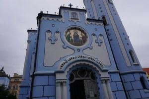 Blaue Kirche Bratislava