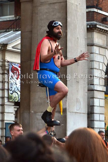 Ping - London - Komischer Typ