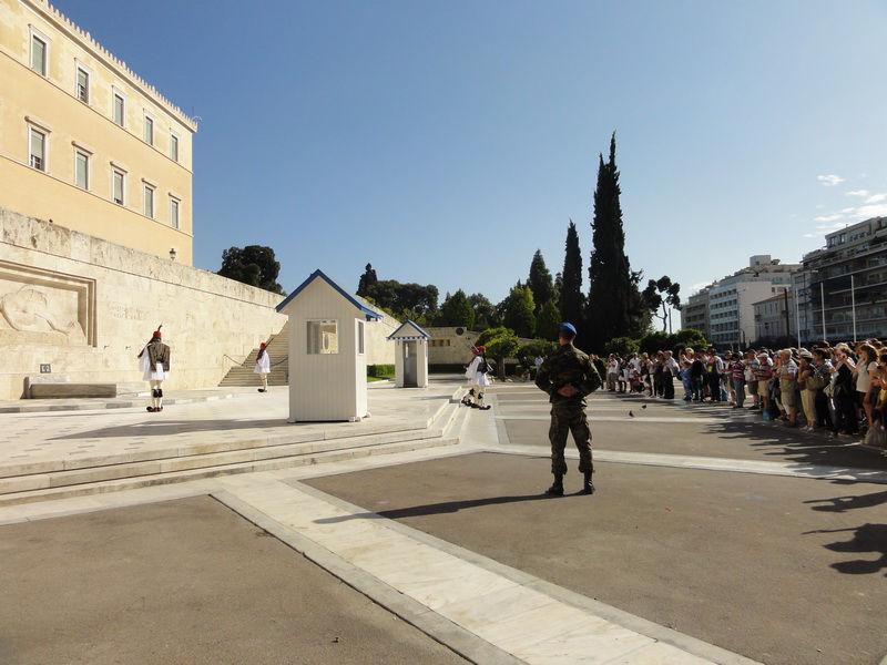 Syntagma Platz Wachwechsel