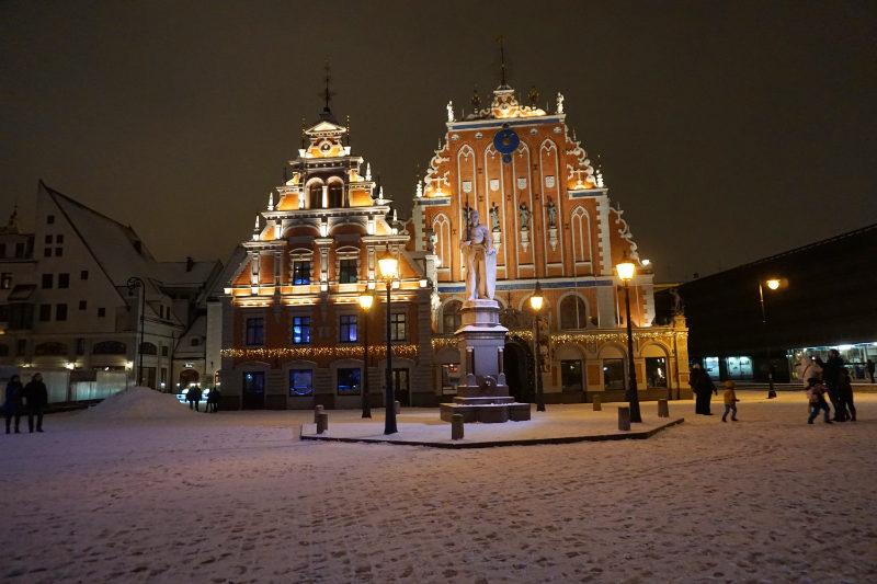 Schwarzhäupterhaus in Riga