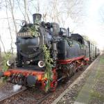 Unterwegs mit dem Glühweinexpress der Berliner Eisenbahnfreunde