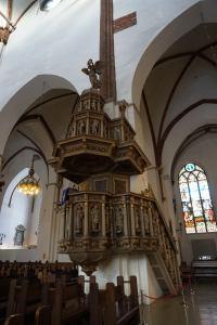 Dom von Riga - Kanzel