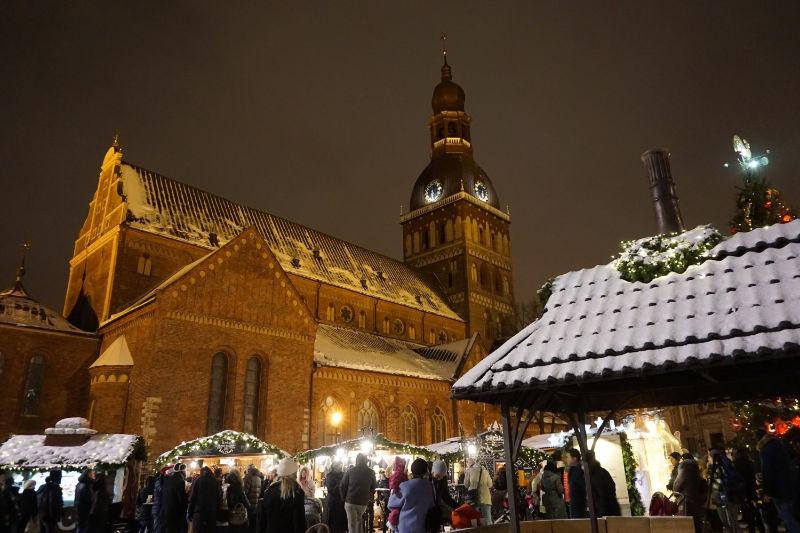 Weihnachtsmarkt Riga am Dom