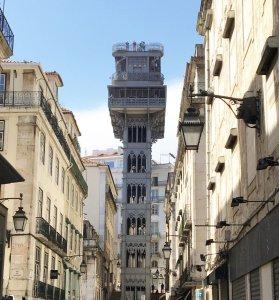 Lissabon - Fahrstuhl Santa Justa