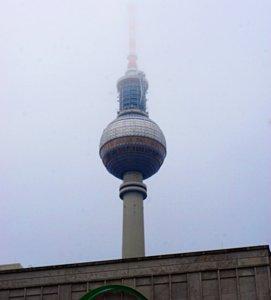 Fernsehturm, Sowjetische Berlin