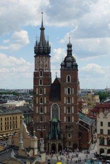 Die Wundervolle Marienkirche In Krakau - Imposant Und