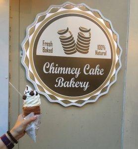 Essen in Krakau - Chimney Cake Bakery