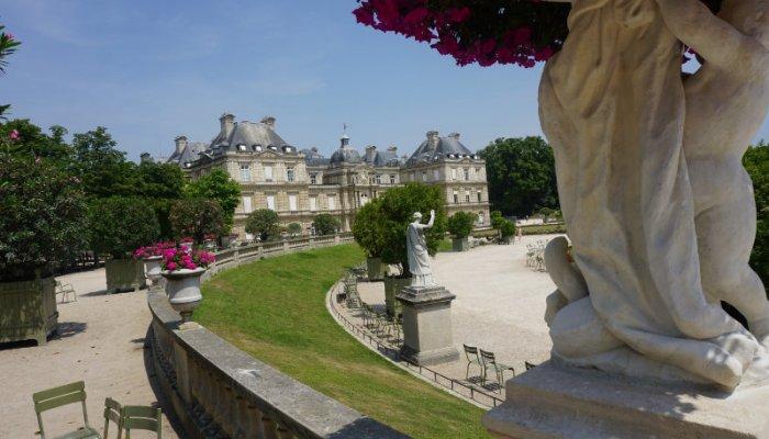 Spaziergang durch den Jardin du Luxembourg