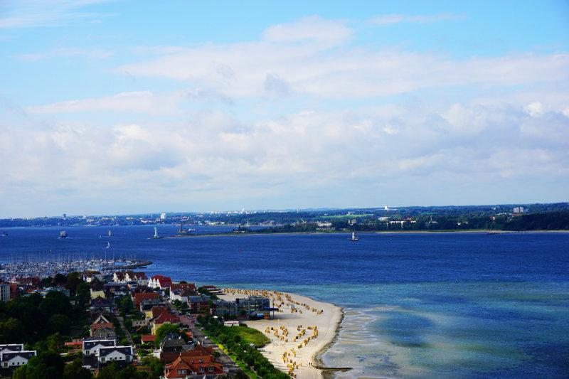 Blick nach Kiel