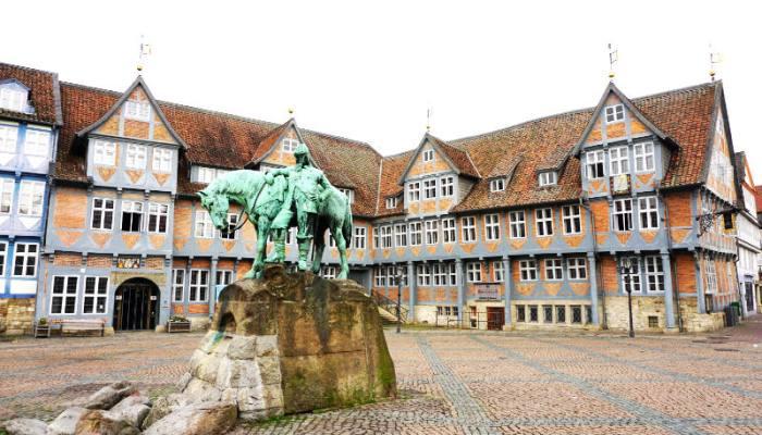 Rund um die Altstadt von Wolfenbüttel