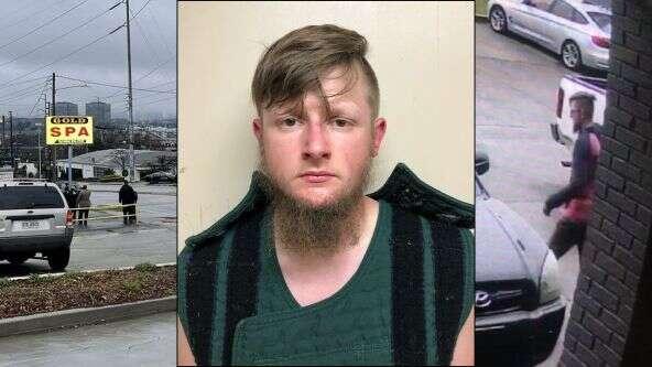 Robert Aaron Long, presunto perpetrador de los ataques en spas de Atlanta.
