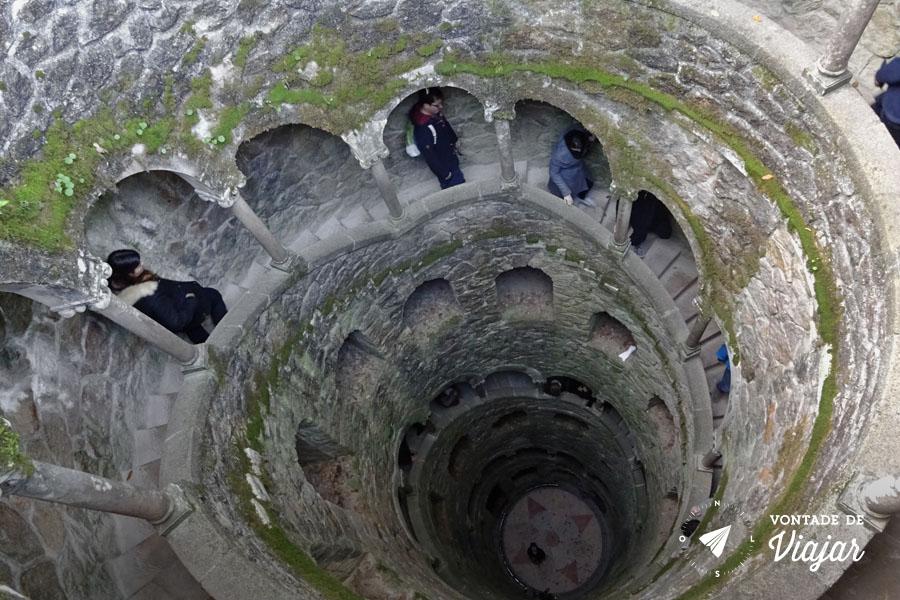 Sintra - Quinta da Regaleira - Torre Invertida