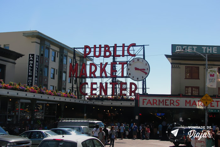 Seattle - Pike Place Market Farmers Market