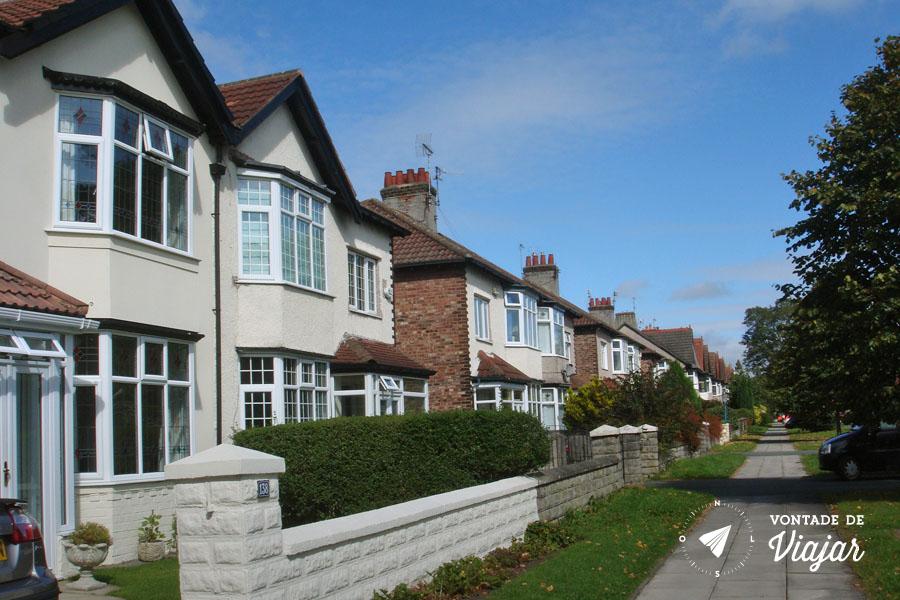 Liverpool Beatles - Blue suburban skies
