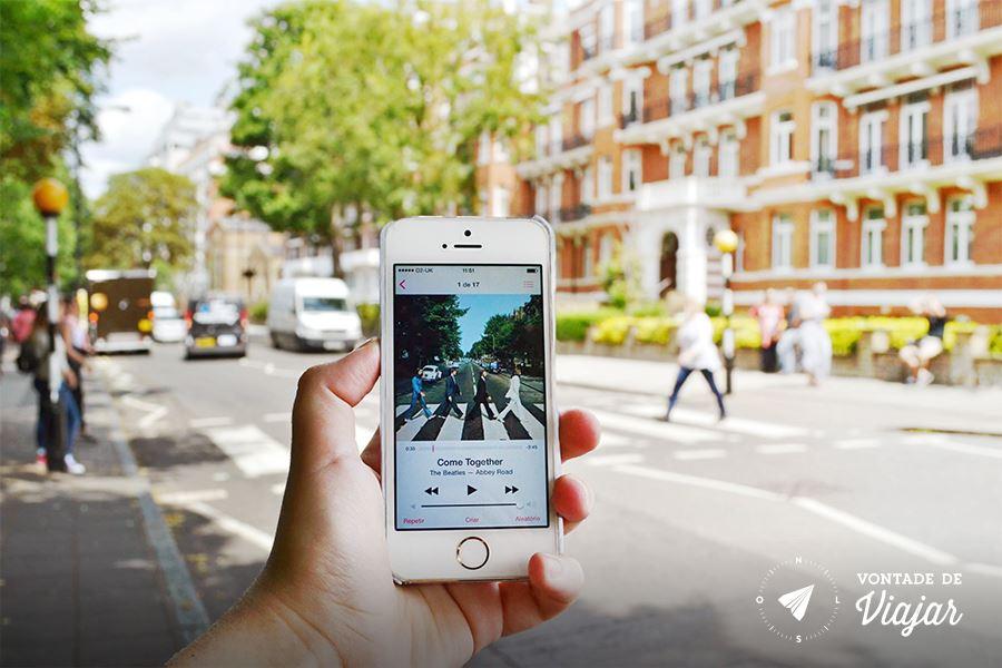 Londres - Beatles Abbey Road - foto do blog Vontade de Viajar