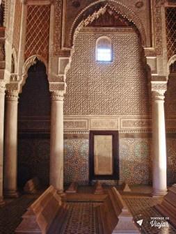Marrakesh - Tumbas Saadianas - Estuque