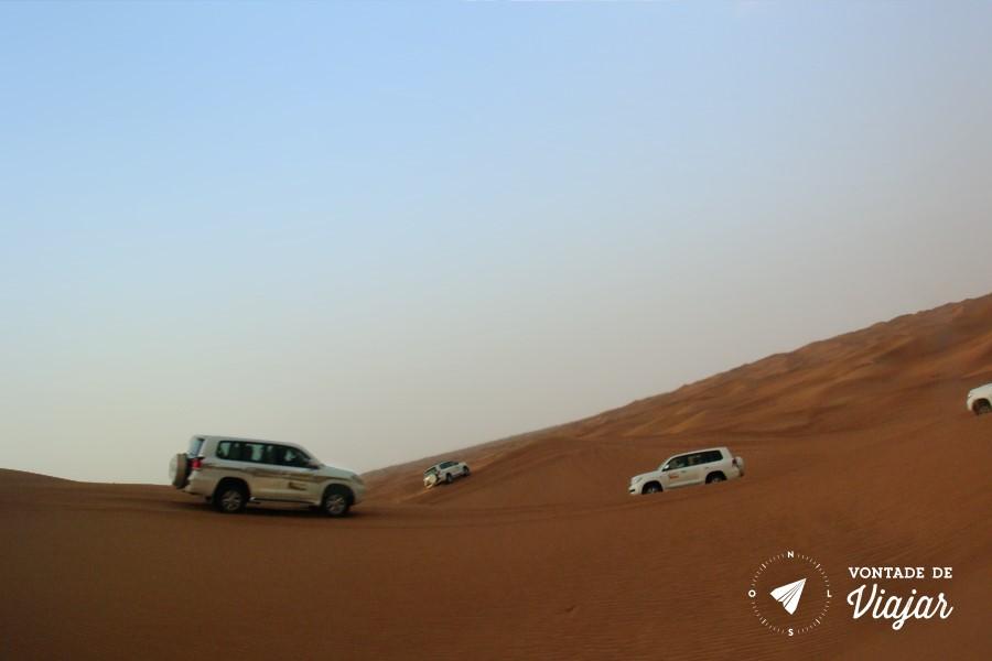 Dubai - Dune bashing picapes nas dunas