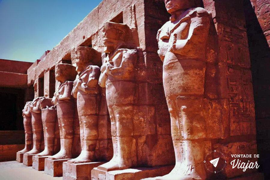 Egito - Templos egipcios em Luxor