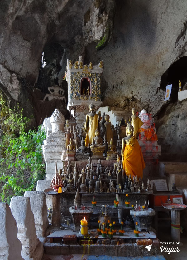 Rio Mekong - Caverna budas