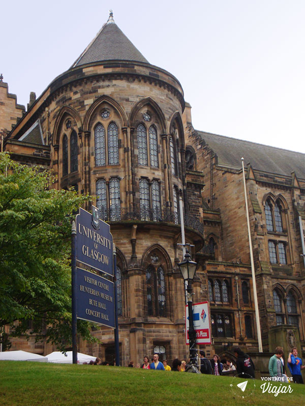 Universidades do mundo - Universidade de Glasgow Escocia