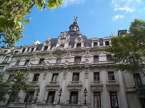 Buenos Aires - Av de Mayo - La Prensa