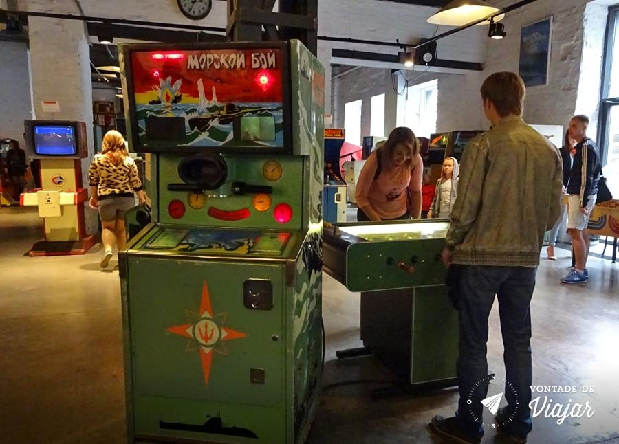 Moscou - Museu do Arcade - Fliperama russo