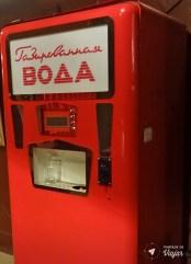 Museu do Arcade - Maquina de refrigerante da Uniao Sovietica