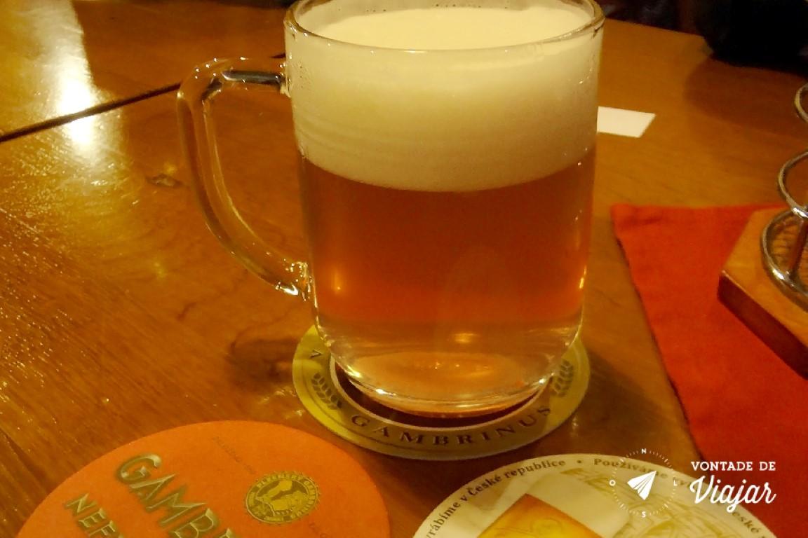 Cervejas tchecas - Gambrinus nao pasteurizada