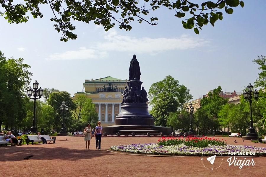 Sao Petersburgo - Teatro Alexandrinsky