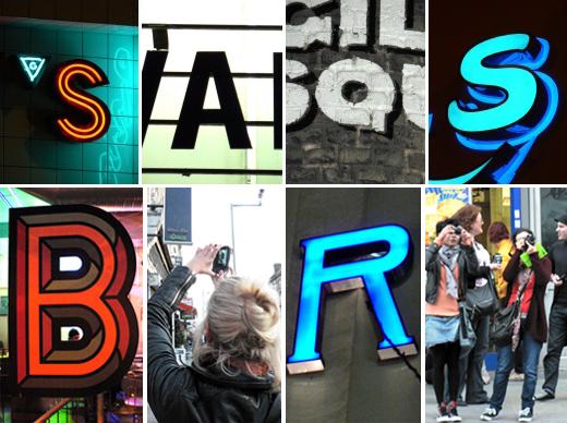 Programas diferentes em Londres - Type Safari