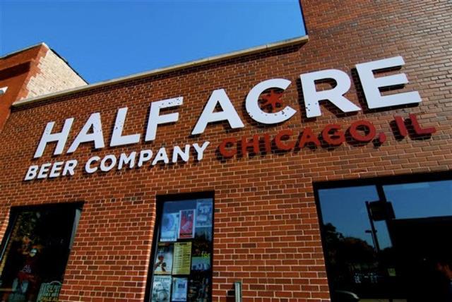 Cervejas de Chicago - Half Acre Beer Company - foto Concierge Preferred