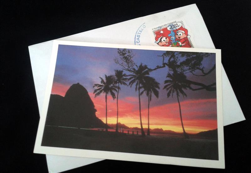 Viajante Secreto - Amigo oculto de cartao postal - Rio de Janeiro