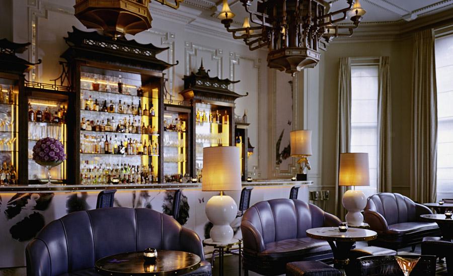 Roteiro Sherlock Holmes - Langham Hotel Londres - Restaurante Artesian Bar