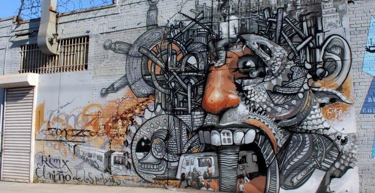 Arte de rua no Brooklyn NY - Bushwick streetart - Foto Wally Gobetz