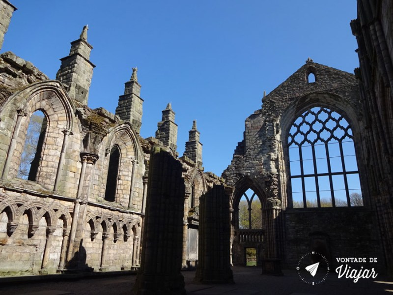 Edimburgo Old Town - Abadia de Holyrood em Edimburgo