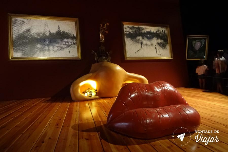 Museu Dali Espanha - Quarto Mae West