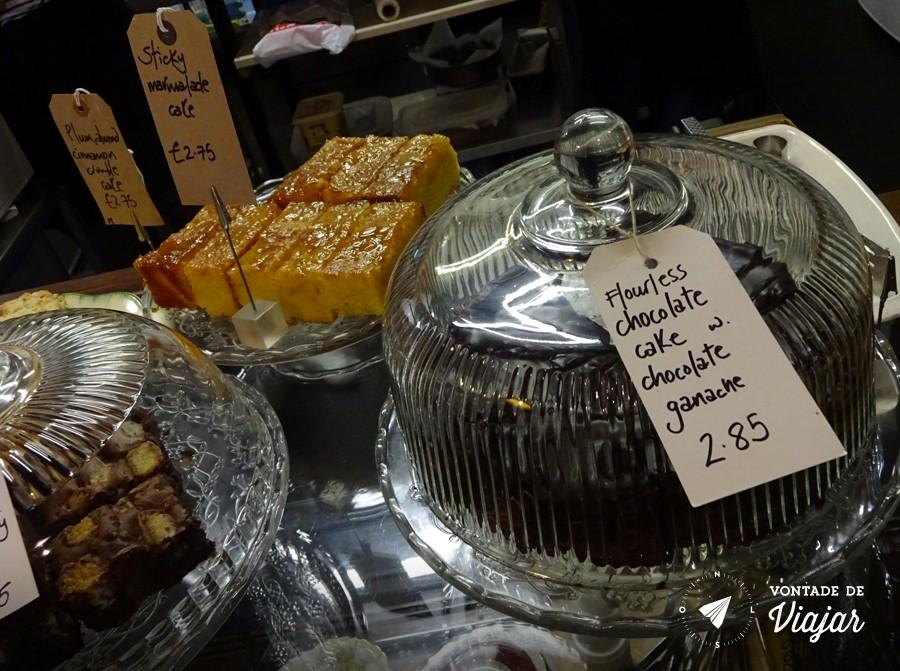 Dundee Escocia - Bolo de chocolate sem farinha da T Ann Cake