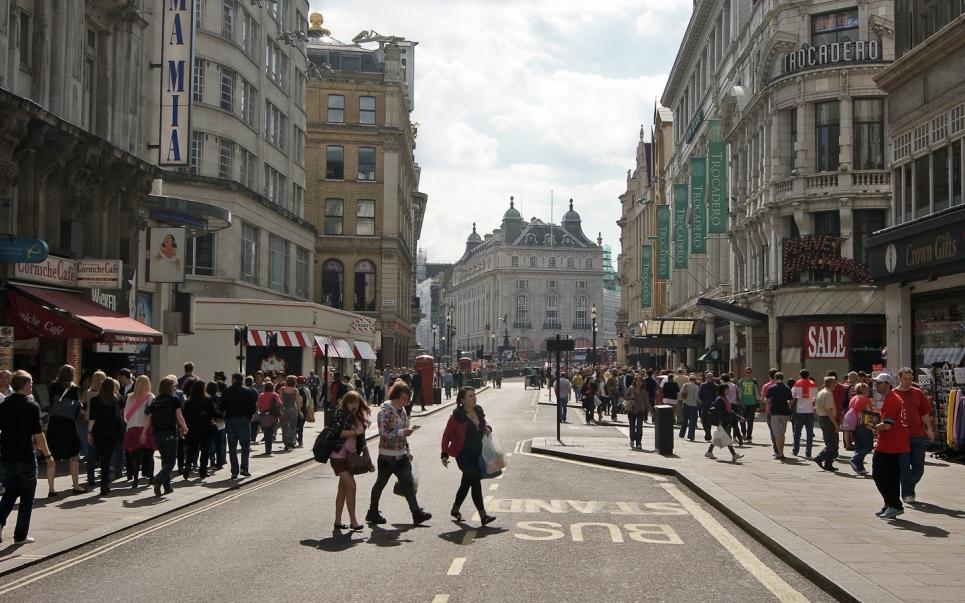 Viagens Literarias - Warwick Street Mayfair Londres