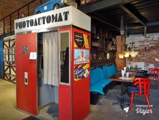 Cabines de fotos 3x4 - Photoautomat Museu do Arcade na Russia