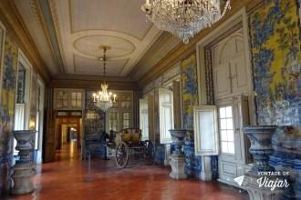 Portugal - Palacio de Queluz Sintra - Azulejos