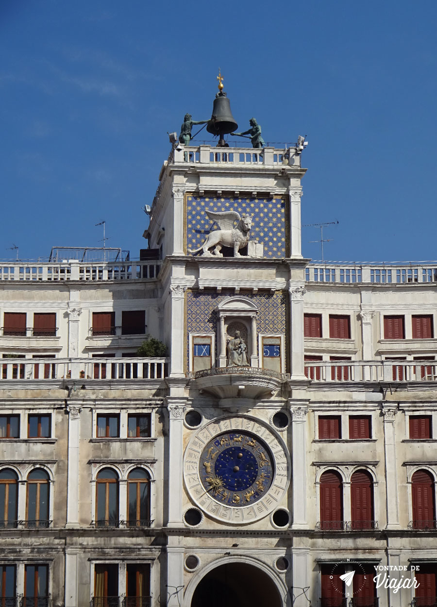 Italia - Torre do Relogio de Veneza
