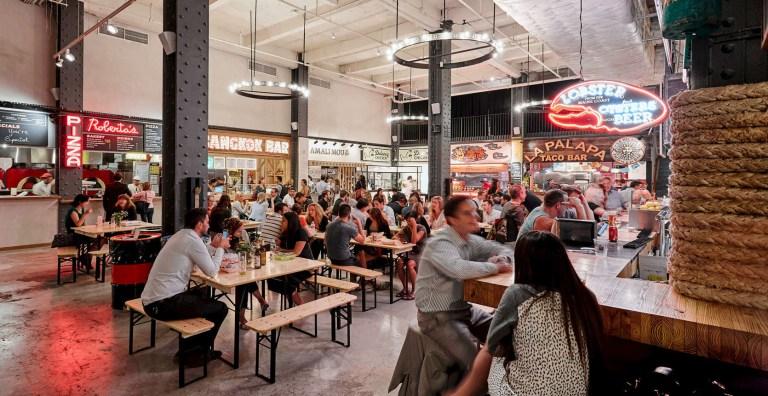Food halls em Nova York - Urbanspace Vanderbilt - Foto Brian Tisza