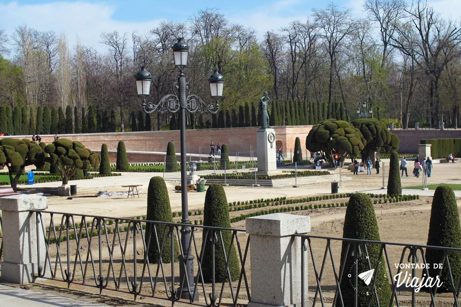 Madri Parque do Retiro - Plaza Parterre