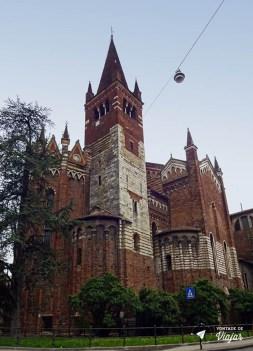 O que fazer em Verona Italia - Igreja de San Fermo arquitetura gotica