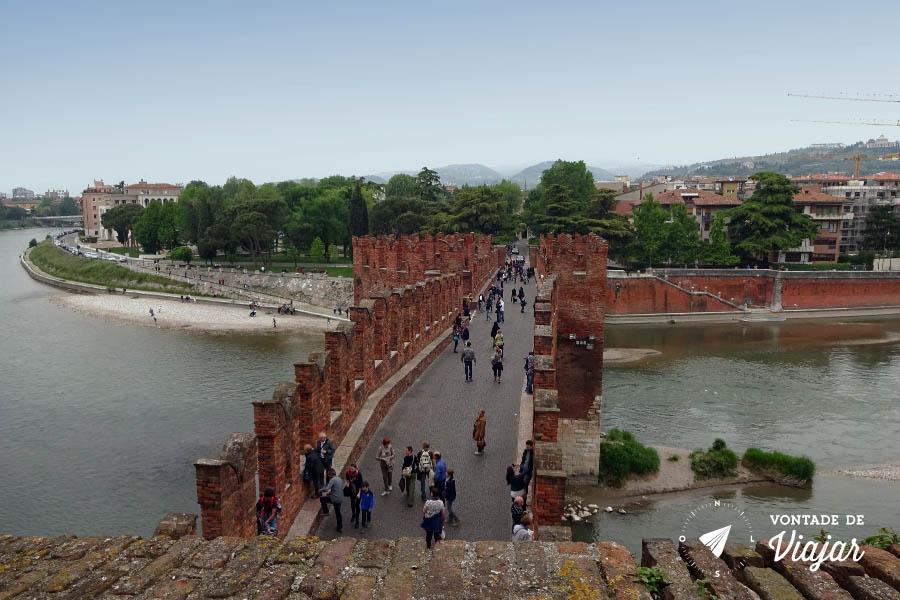 O que fazer em Verona Italia - Ponte Scaligere
