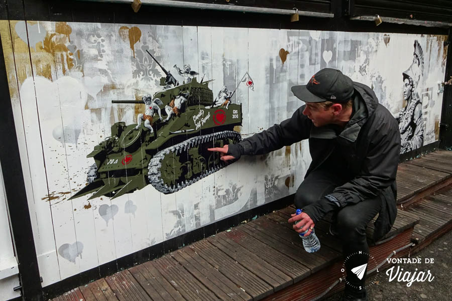 Street art Londres - tour street art Alternative LDN Keir