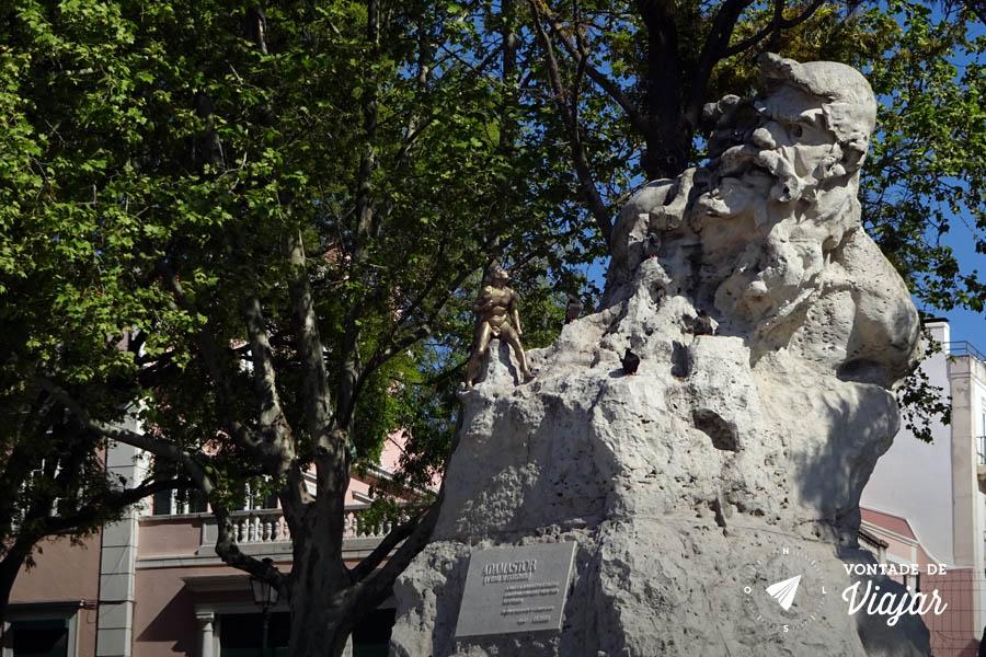 Tour em Lisboa - Miradouro de Santa Catarina Adamastor