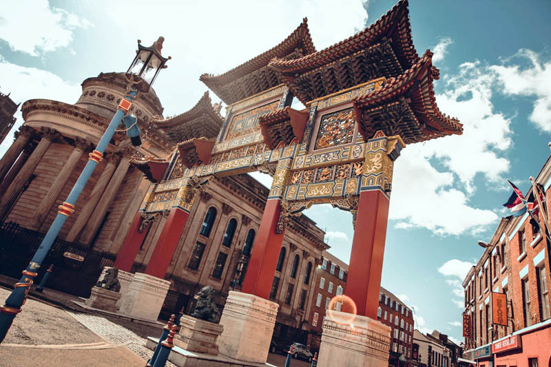 Chinatown de Liverpool - Foto Courtney Hobbs