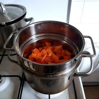 Süßkartoffel Brownies Rezept Schritt 2