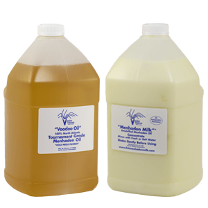 Menhaden Milk® and Voodoo Oil